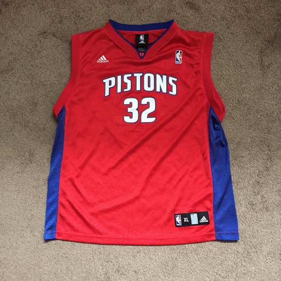 free shipping a739a f5d52 kids pistons jersey